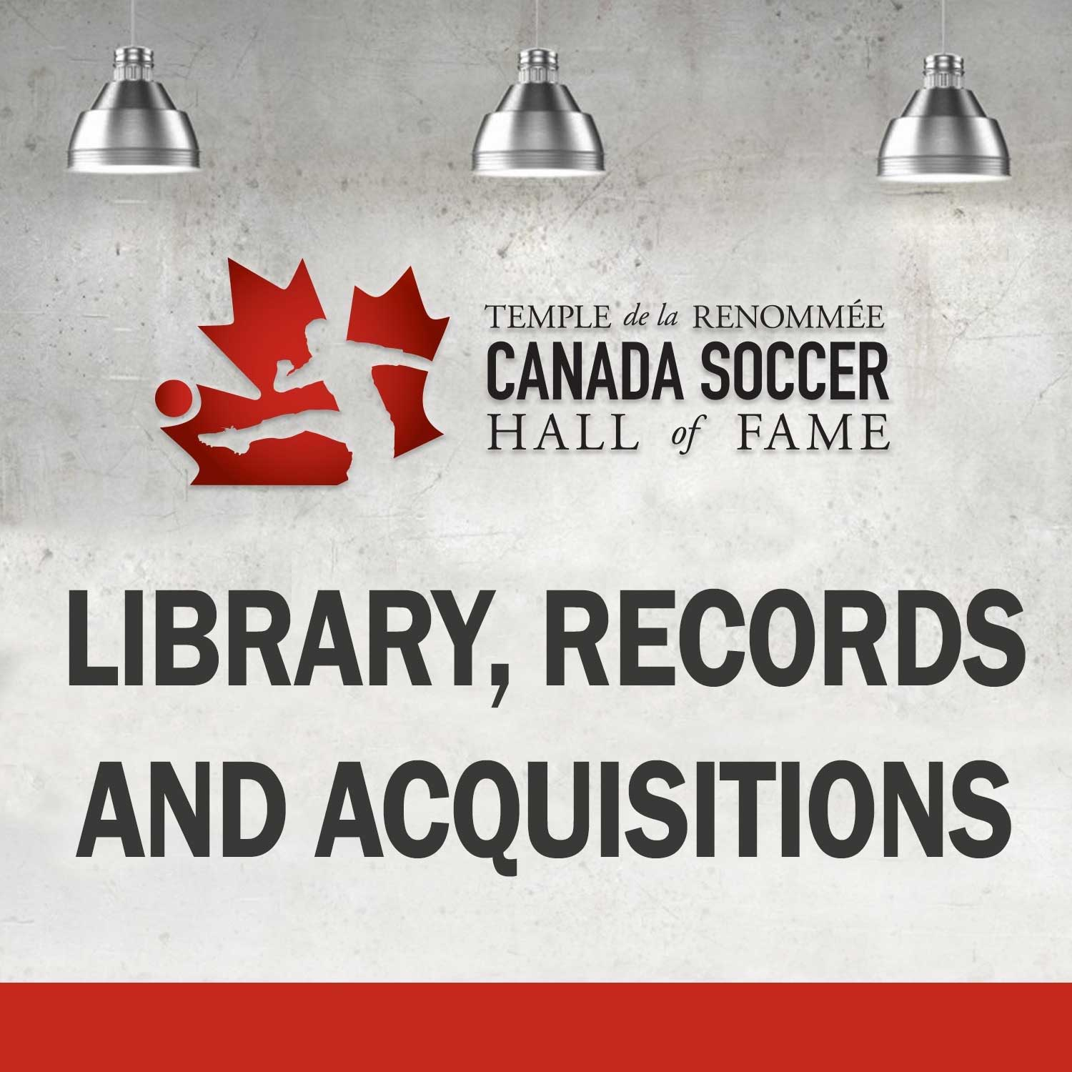 Library, Records & Acquisitions