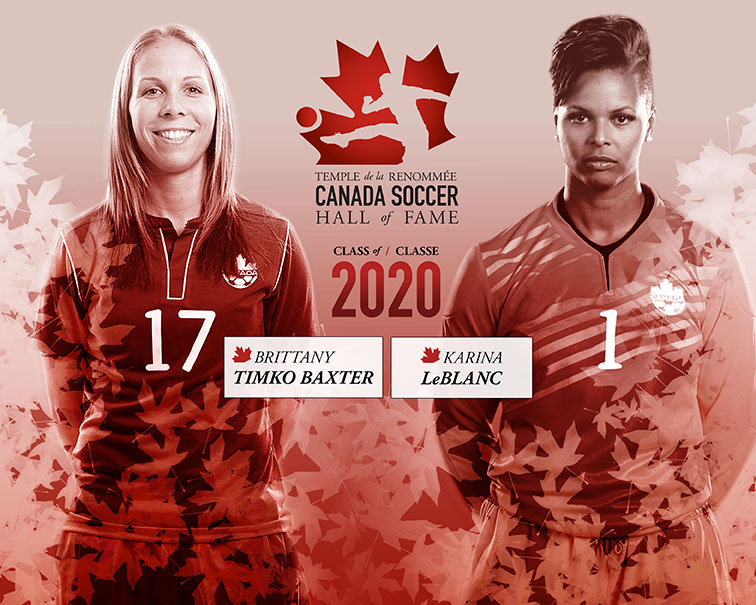 Canada Soccer Hall of Fame Class of 2020